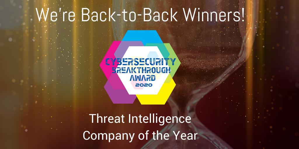 2020 Cyber Breakthrough Award