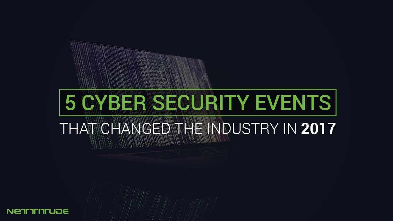2017 cyber security events