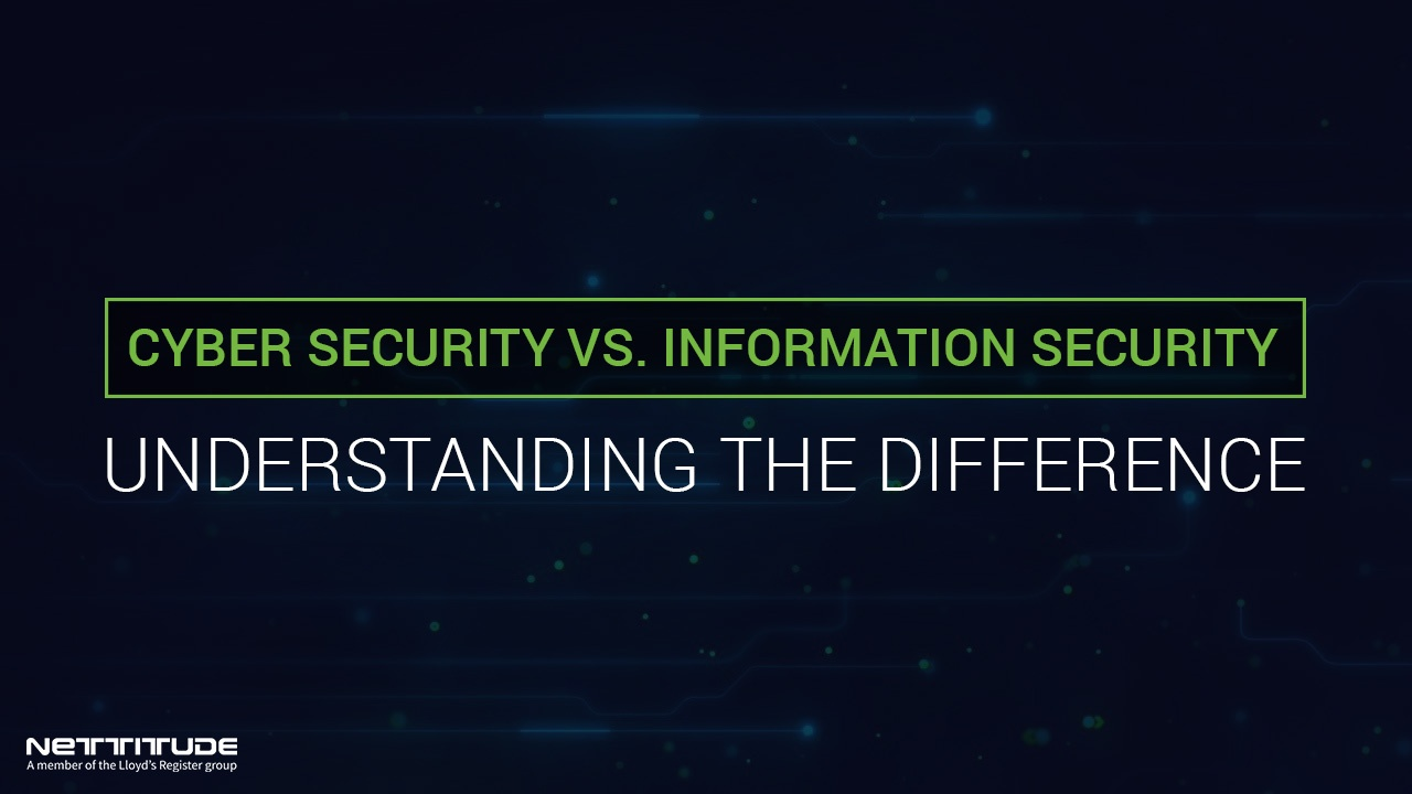 Cyber Security vs. Information Security