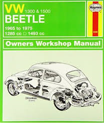 Figure 3: VW Beetle Haynes Manual
