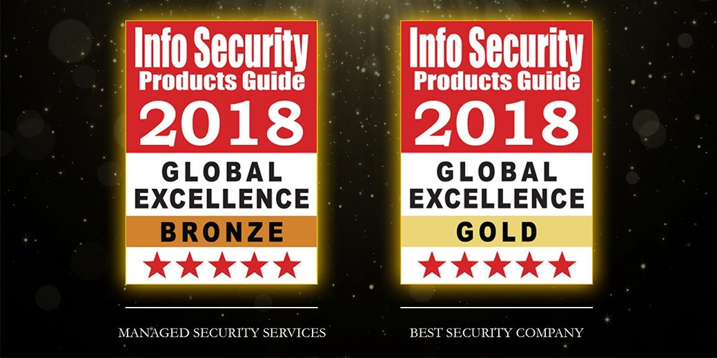 Winners of the 14th Annual 2018 Info Security PG's Global Excellence Awards