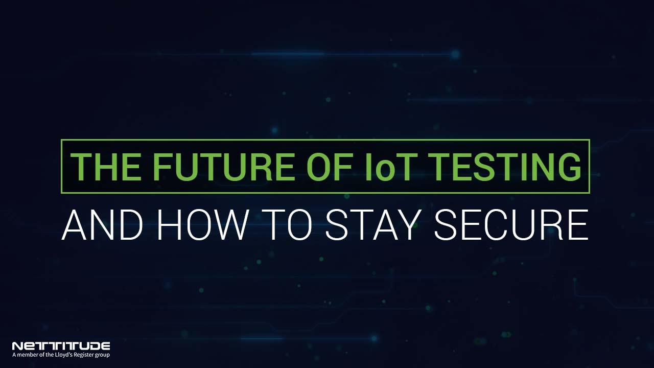 Future of IoT Testing